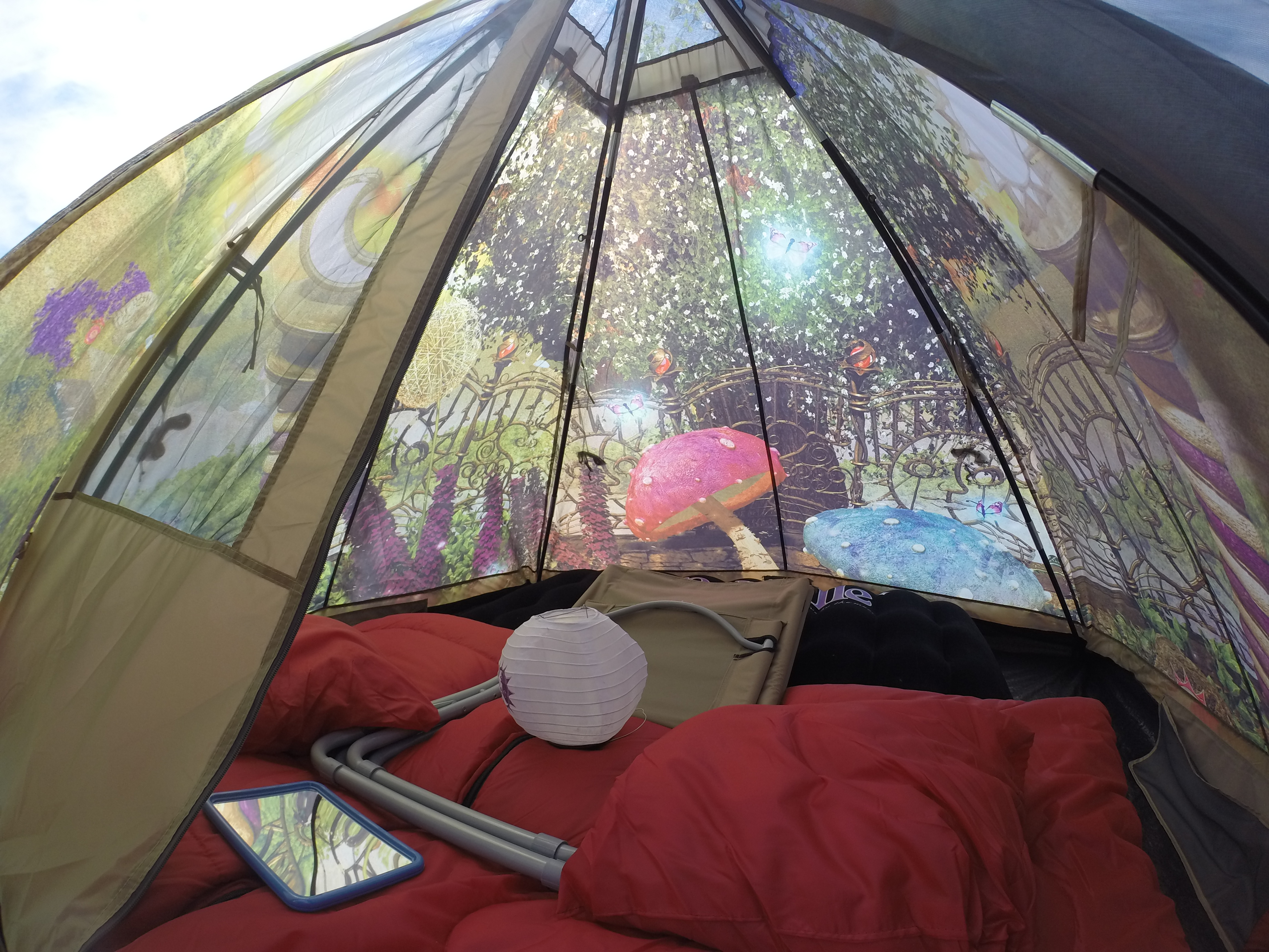 DCIM103GOPRO. Our 2 person Easy Tent & Journey to Tomorrowland u2013 Sincerely Samantha B